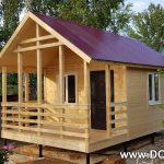 Домой дачный дом 4x6