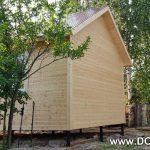 проект дачного дома 4 на 6 от компании Домой