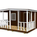 проект садового дома 4