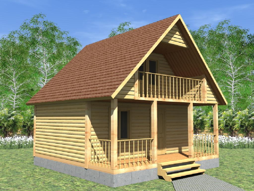проект каркасного дома Виктория