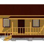 проект дачного дома 6x4 вид 2