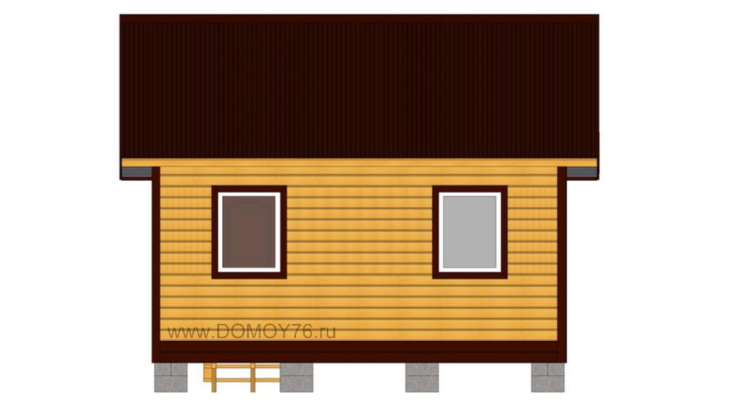 проект дачного дома 5x4 ДоМой
