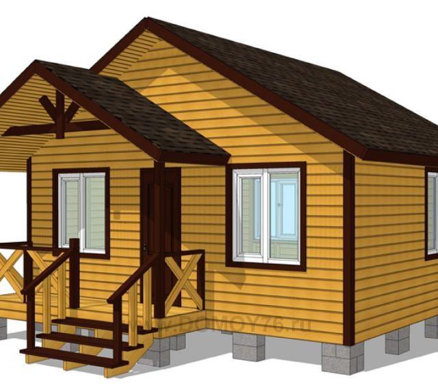 Дачный дом 6×5
