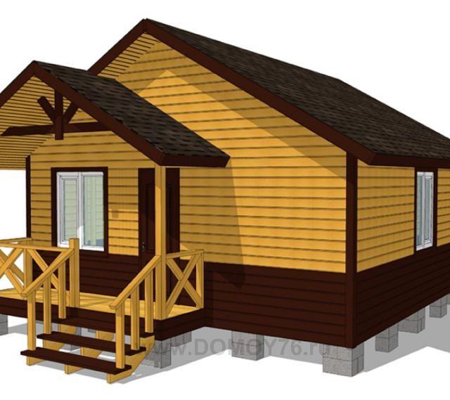 Дачный дом 6×6