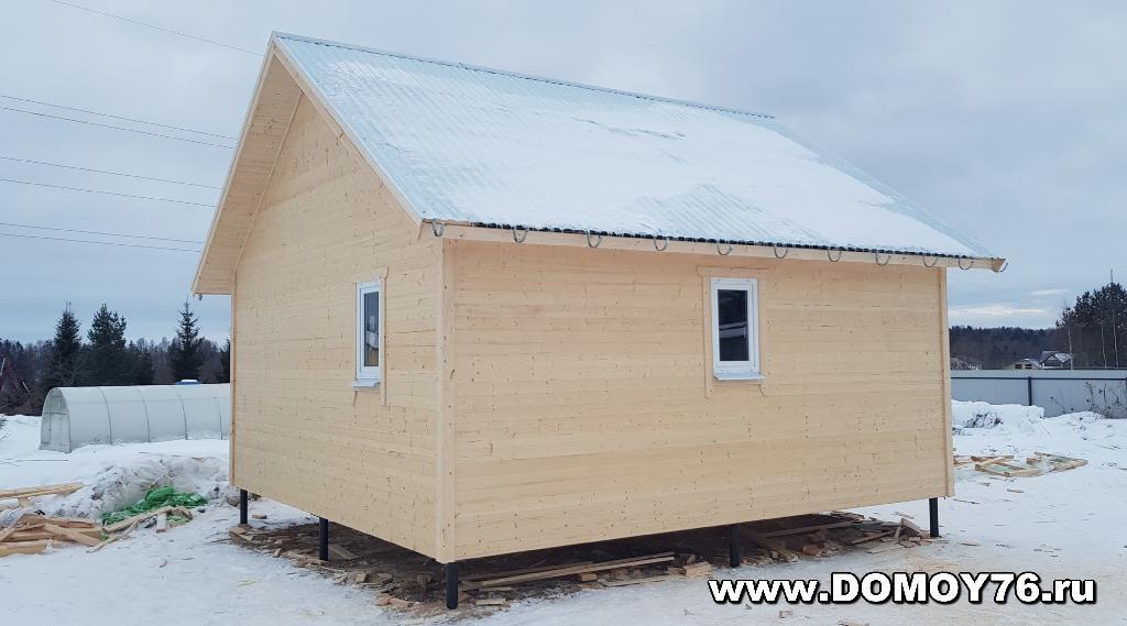 фото 2 проекта дачный дом 6x6