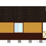 вид 1 проекта дачный дом 6x6