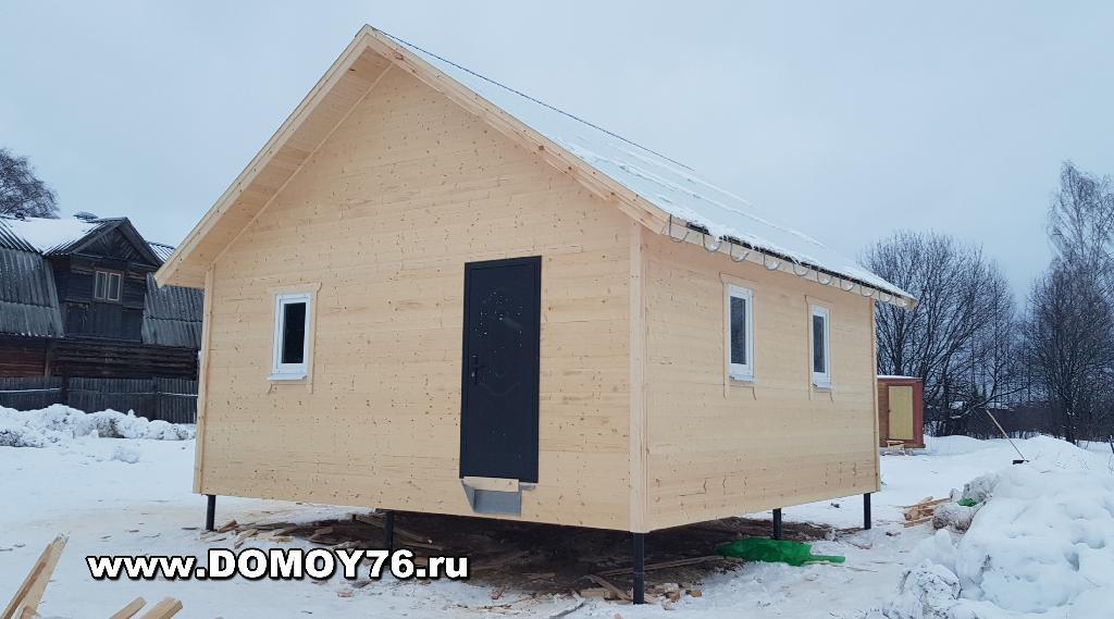 фото 1 проекта дачный дом 6x6