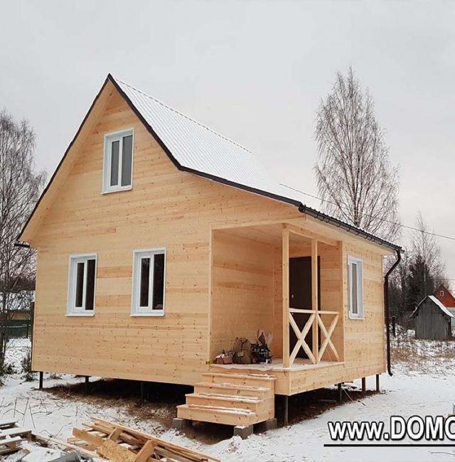 Дачный дом 6×8