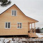 Дачный дом 6x8, портфолио фото 1