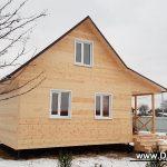 Дачный дом 6x8, портфолио фото 3