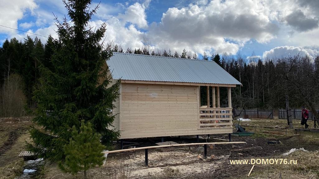 Проект Дачник №1 4х4 м. Рыбинск2