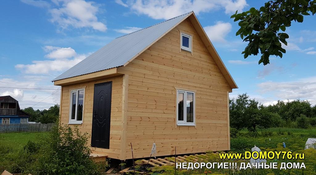 Дачный дом 4X5.5 портфолио фото 1