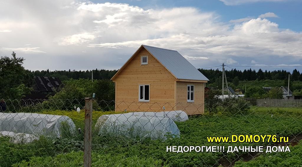Дачный дом 4X5.5 портфолио фото 6