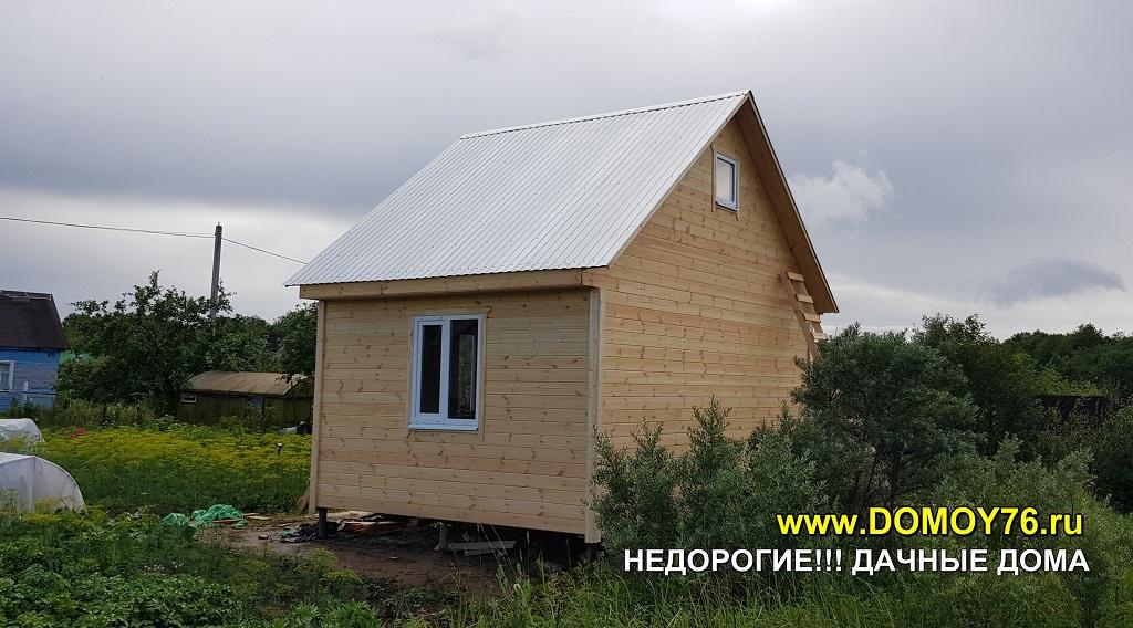 Дачный дом 4X5.5 портфолио фото 2