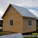 Дачный дом 4X5.5 портфолио фото 3