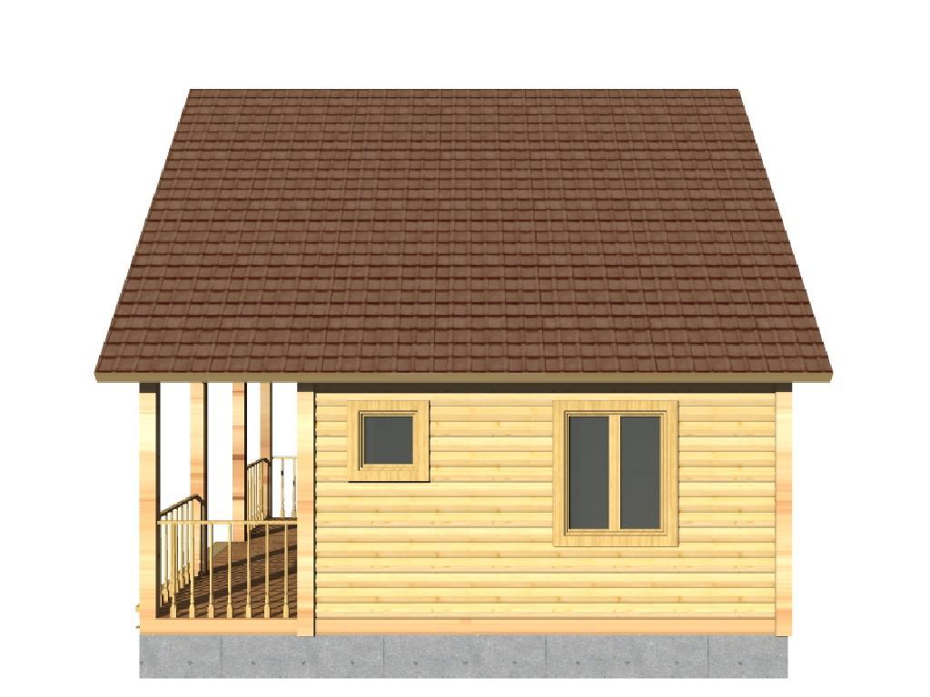 проект дома виктория вид сбоку 2
