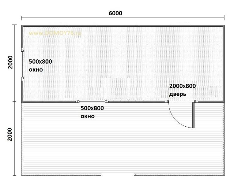 План, садовый дом - 3