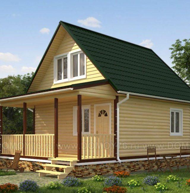 Проект дома Завражье