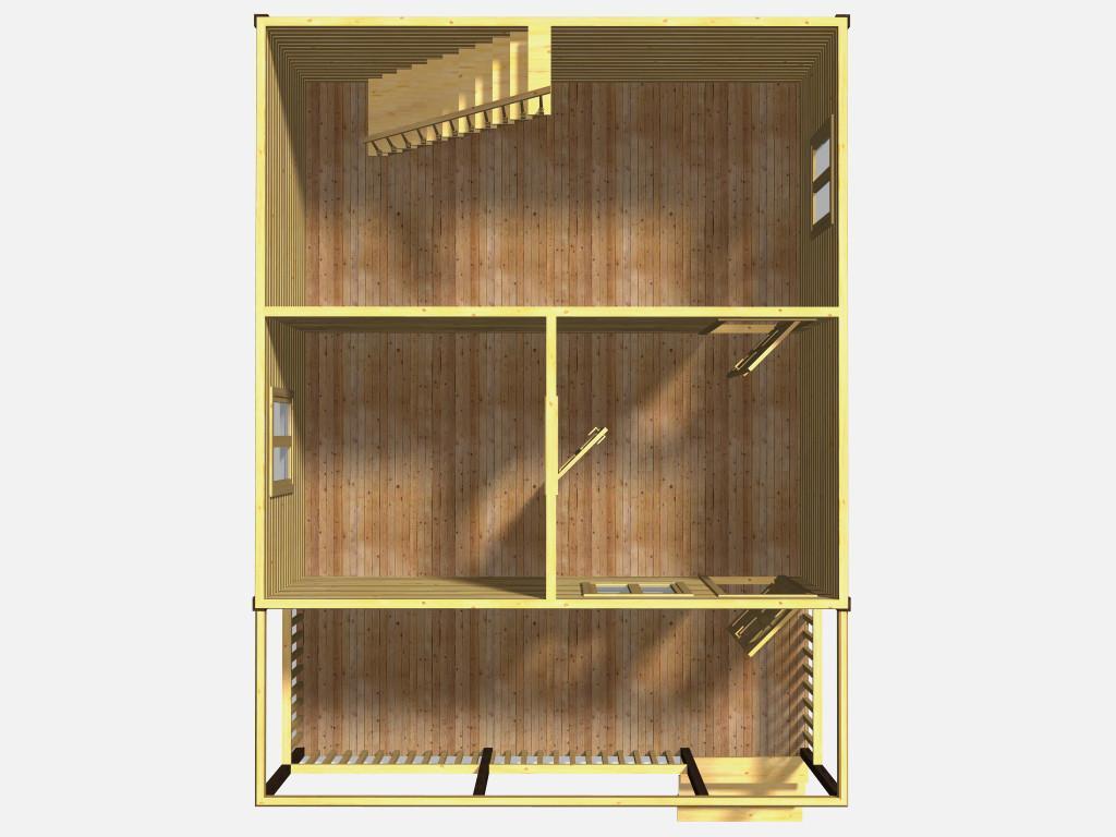 План первого этажа проекта Завражье