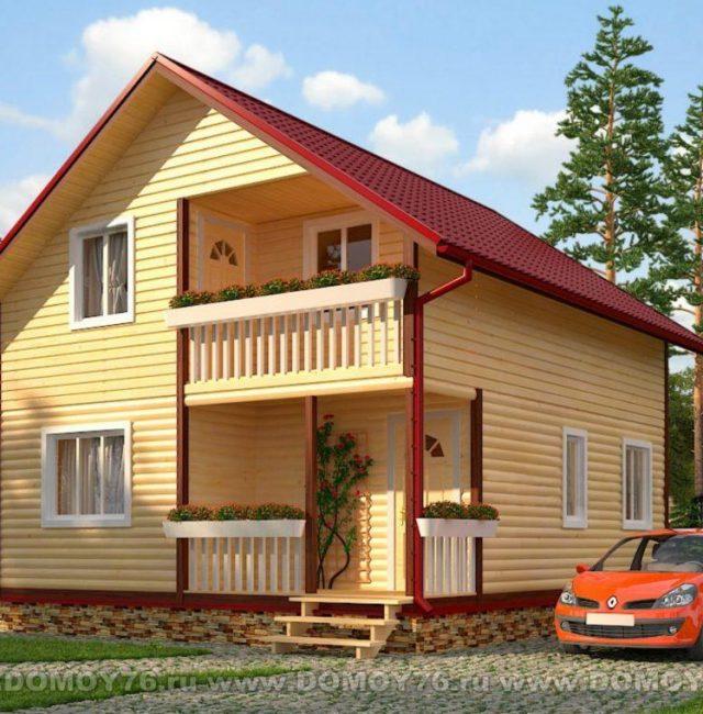 Проект дома Амелия