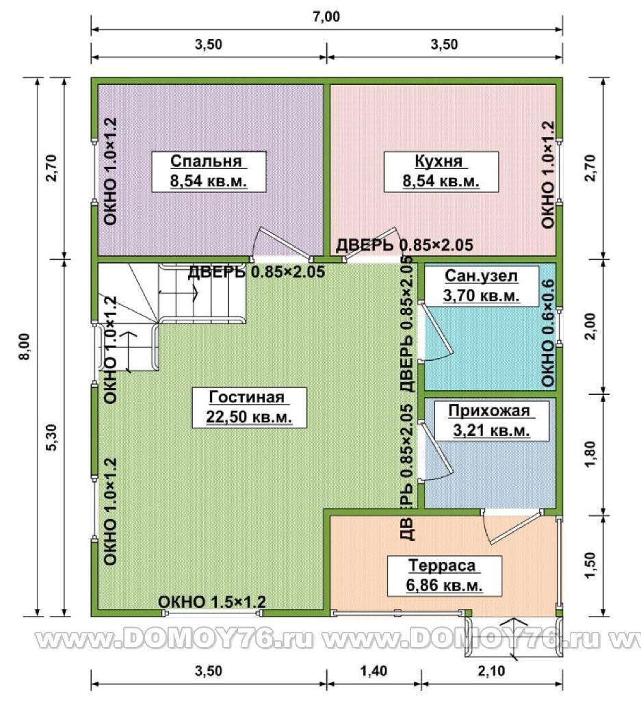Проект амелия план первого этажа