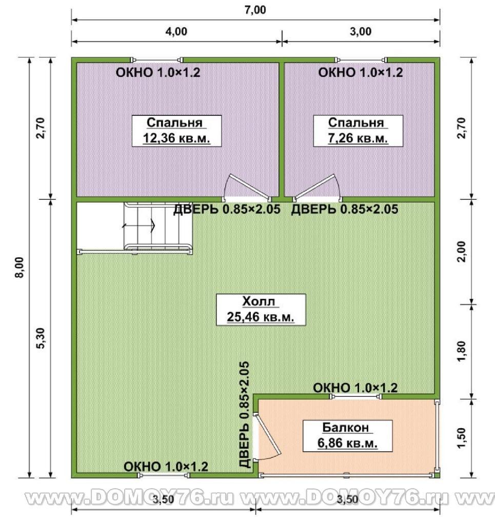 Проект амелия план второго этажа
