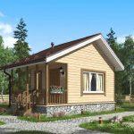 Проект дома Амур от строительной компании ДоМой
