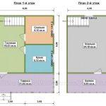 план дома по проекту Атлант