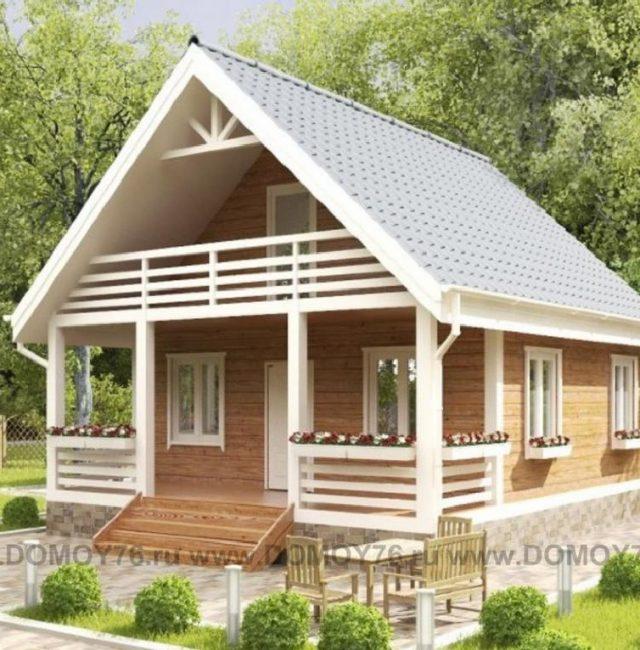 Проект дома Бурково