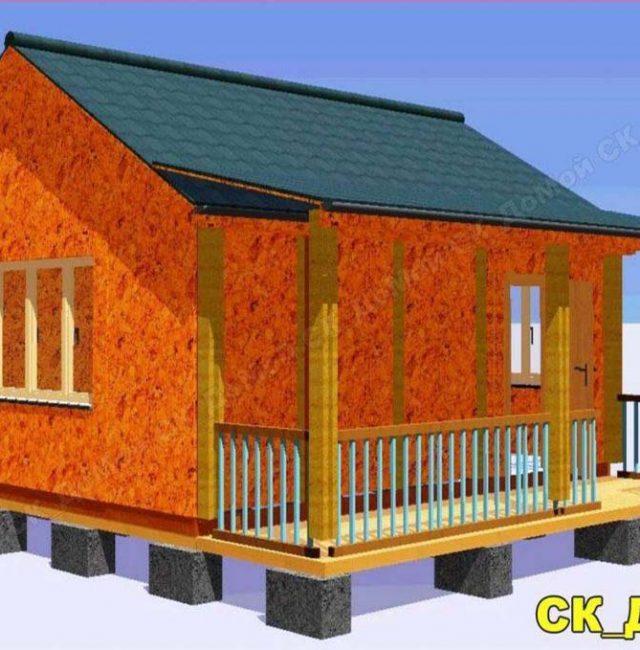Проект дома Дачник