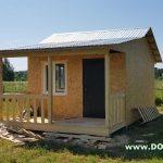 Дом по проекту Дачник от ск Домой