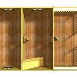 План первого этажа проекта Енисей