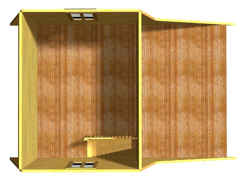 План второго этажа проекта Енисей