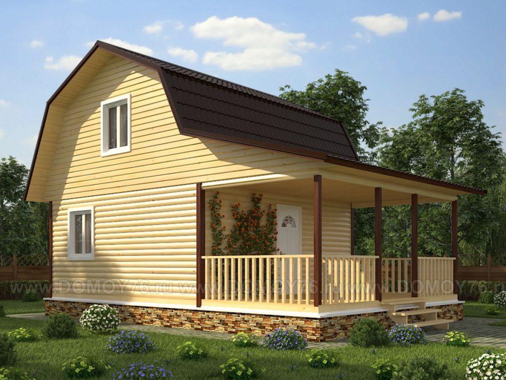 Проект дома Енисей