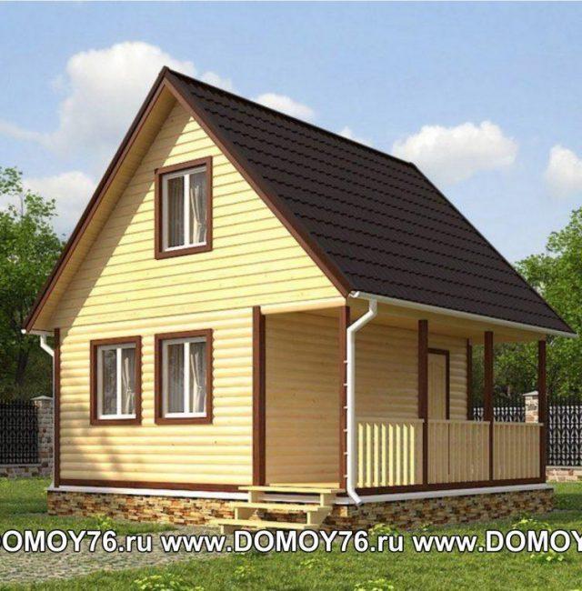 Проект дома Ермак