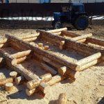Проект бани Фиджи фото стройки 12