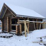 Проект бани Фиджи фото стройки 2
