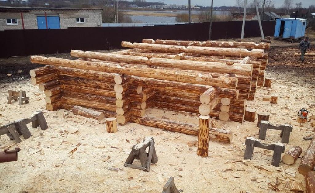 Проект бани Фиджи фото стройки 10