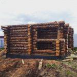 Проект бани Фиджи фото стройки 9