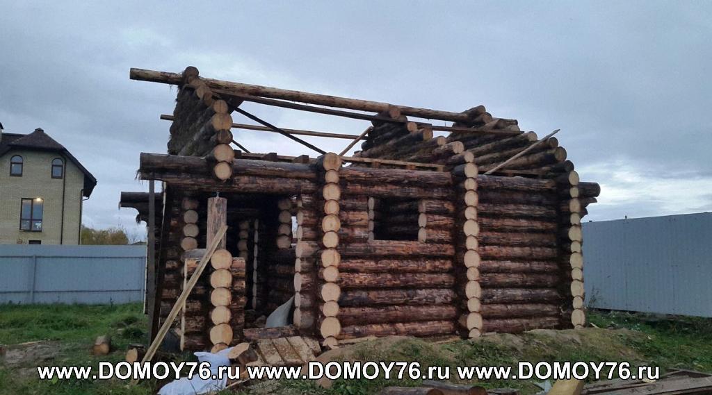 Проект бани Фиджи фото стройки 7