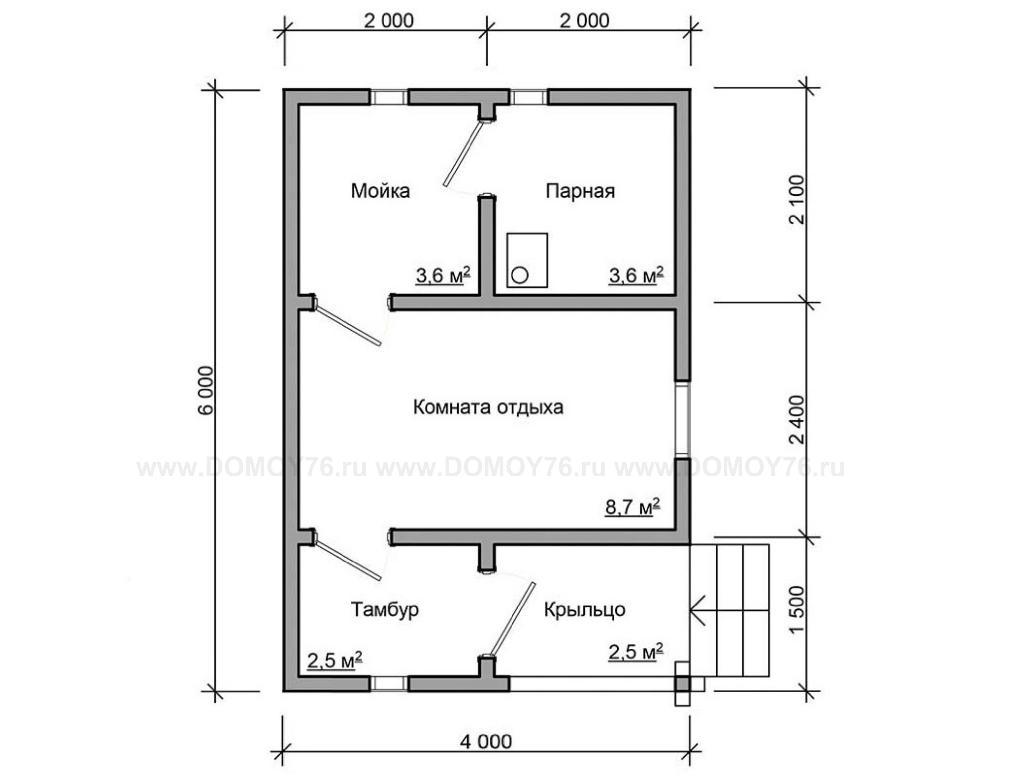 Проект бани Фиджи план