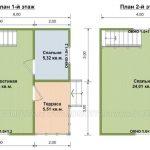План дома по проекту Гармония