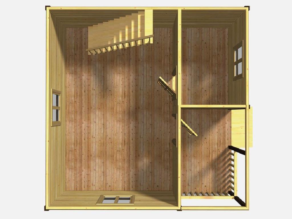 План первого этажа проекта гармония