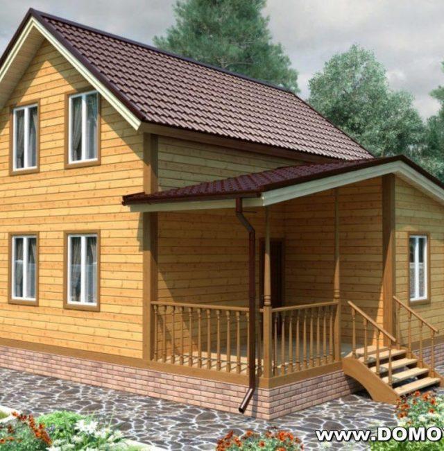 Проект дома Глебовский
