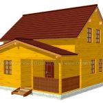 Строительная компания Домой дом по проекту Глебовский
