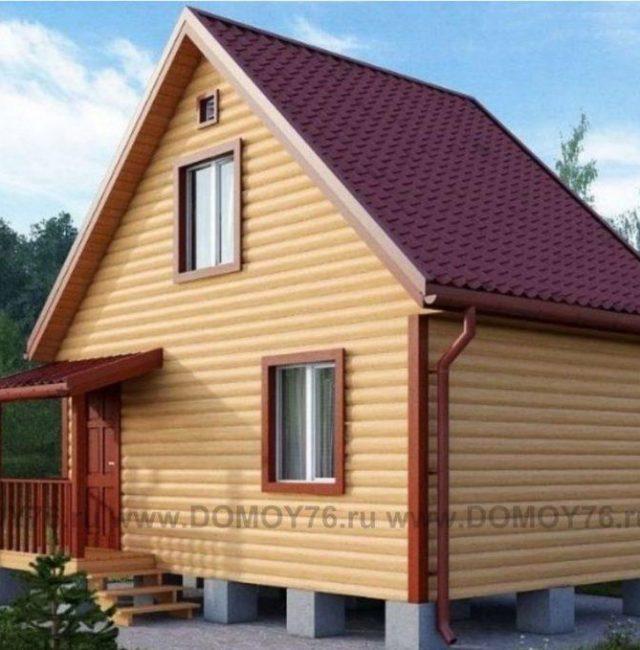 Проект дома Кедр 1