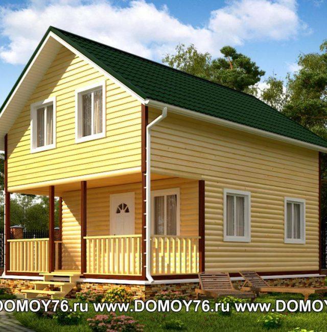 Проект дома Лазурный