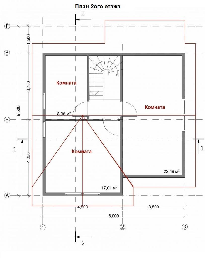 Проект невада план второго этажа