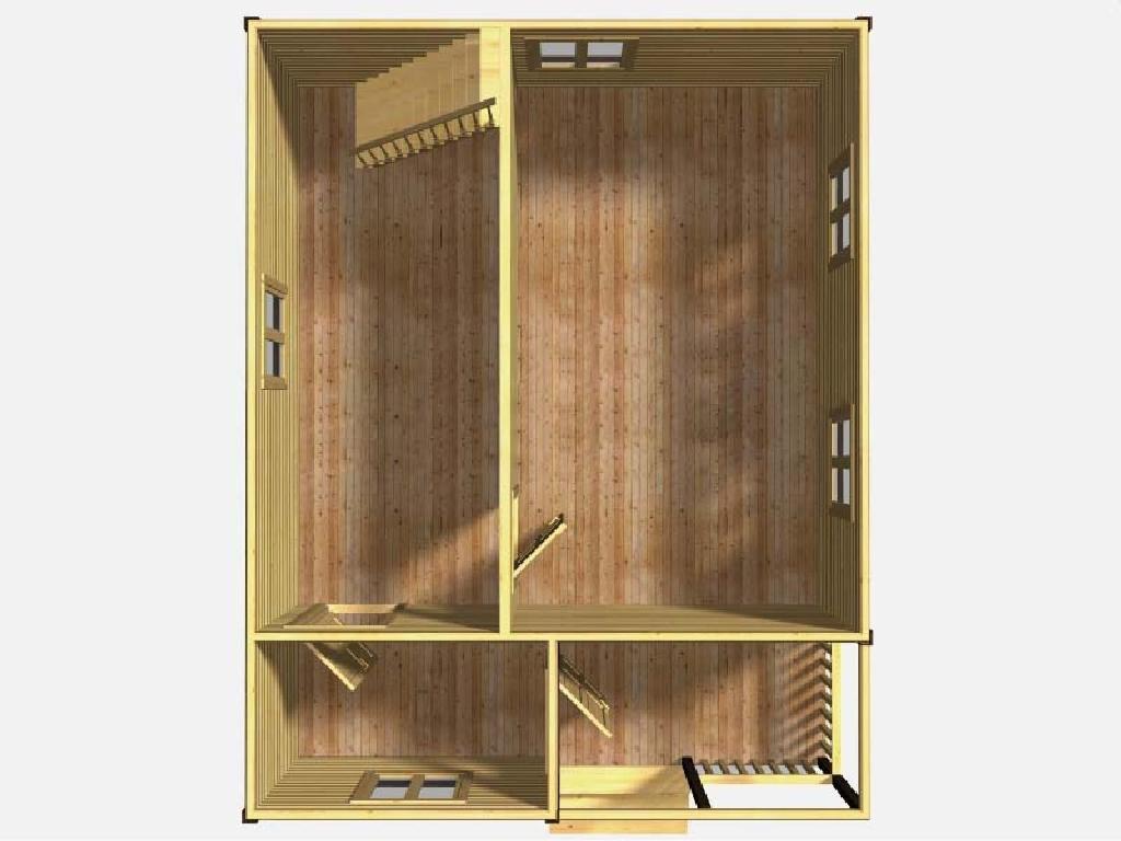 План первого этажа проекта Одиссей