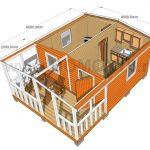 план садового дома 4